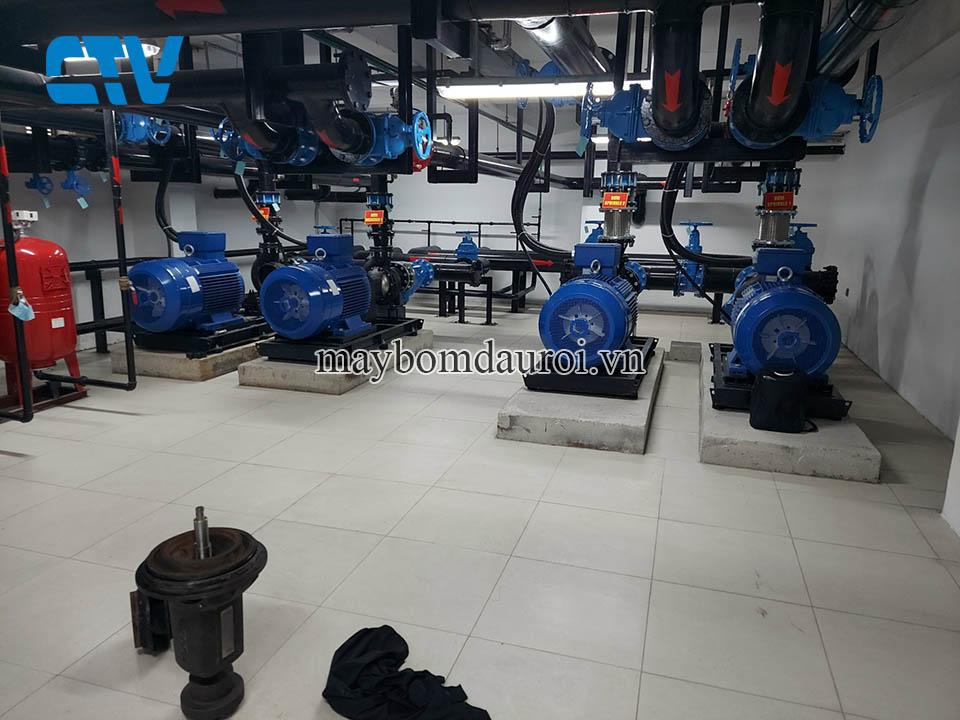 Sửa chữa máy bơm công nghiệp tốt nhất tại Hà Nội